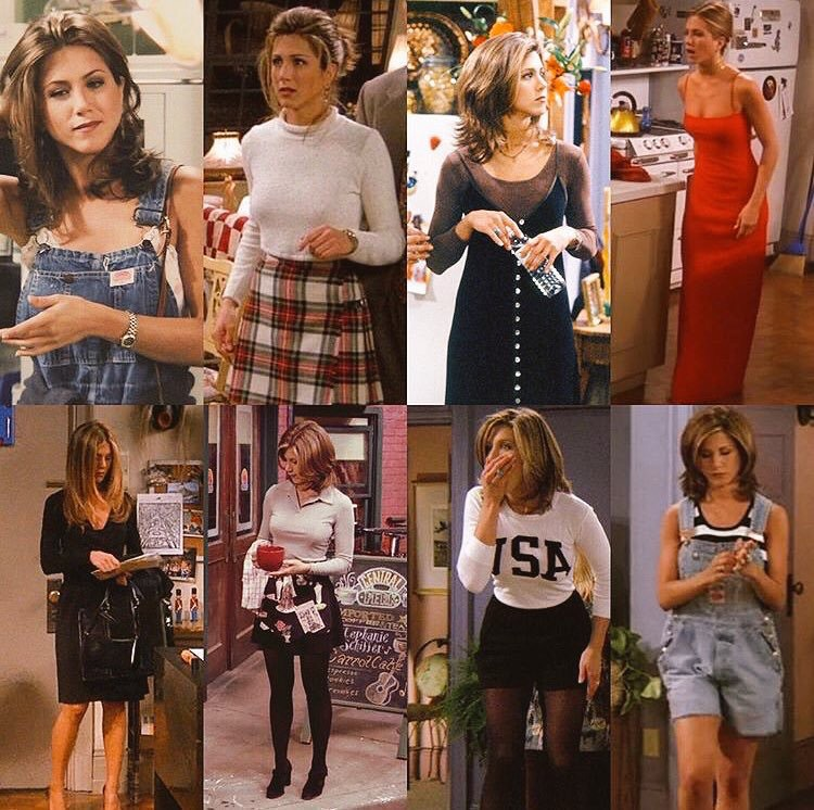personajes de friends rachel green