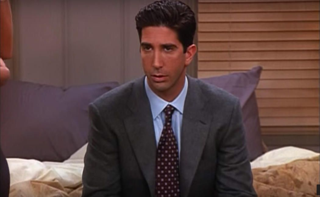 personajes de friends ross geller